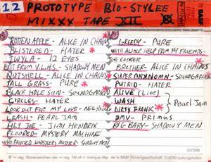 Prototype Bio-Stylee Mixxx Tape XII