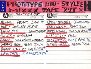 Prototype Bio-Stylee Mixxx Tape XVI