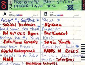Prototype Bio-Stylee Mixxx Tape I Cover