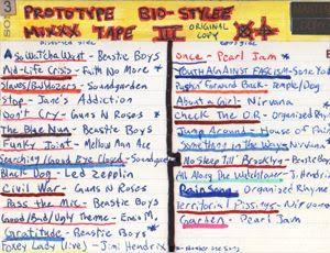 Prototype Bio-Stylee Mixxx Tape III Cover