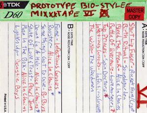 Prototype Bio-Stylee Mixxx Tape VI Cover