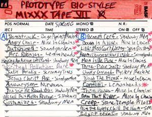 Prototype Bio-Stylee Mixxx Tape VII Cover