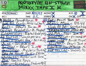 Prototype Bio-Stylee Mixxx Tape X