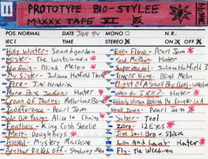 Prototype Bio-Stylee Mixxx Tape XI